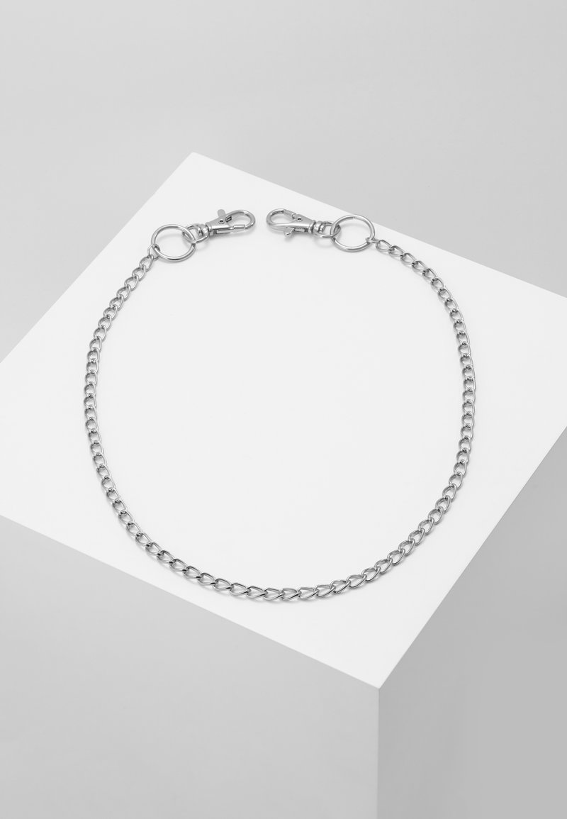 Jack & Jones - JACTOM CHAIN - Portachiavi - silver-coloured