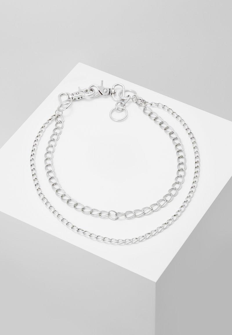 Jack & Jones - JACTOM CHAIN - Klíčenka - silver-coloured