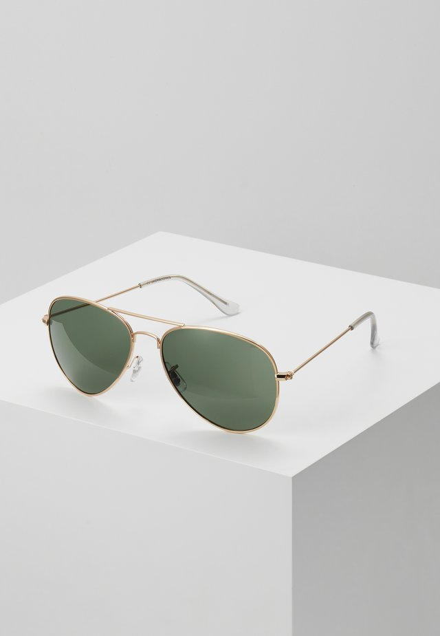 JACMAVERICK SUNGLASSES - Aurinkolasit - bright gold-coloured