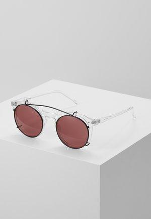JACPUNK SUNGLASSES - Sluneční brýle - transparent