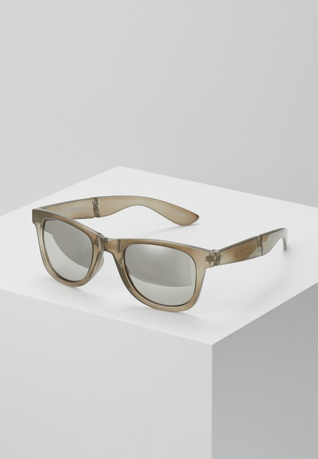 JACFOLD SUNGLASSES - Sunglasses - smoked pearl