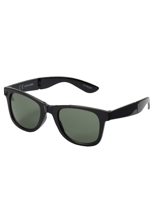 JACFOLD SUNGLASSES - Solglasögon - black