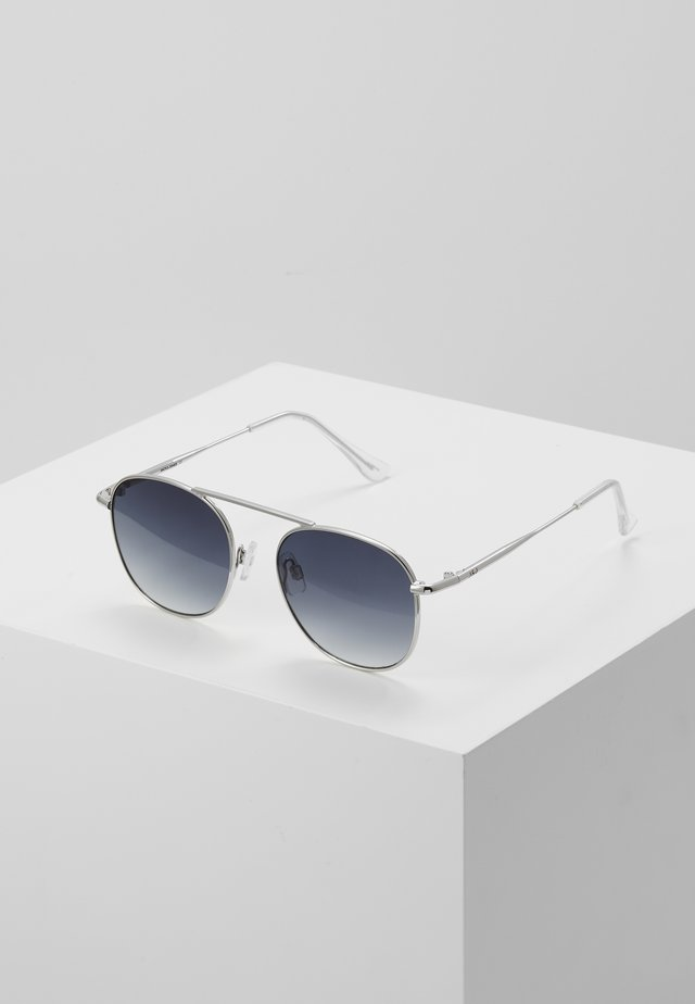 JACSTEAM SUNGLASSES - Solglasögon - silver-coloured
