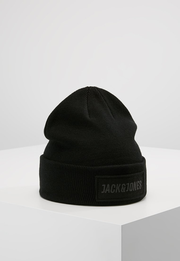 Jack & Jones - JACBADGE BEANIE - Mütze - black