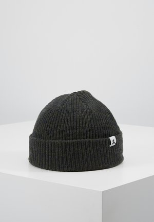 JACTWISTED SHORT BEANIE - Pipo - forest night/navy blazer