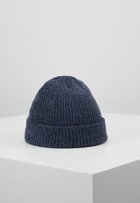 Jack & Jones - JACTWISTED SHORT BEANIE - Čepice - navy blazer/china blue - 2