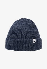 Jack & Jones - JACTWISTED SHORT BEANIE - Čepice - navy blazer/china blue - 4