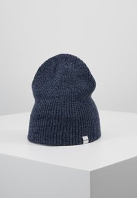 Jack & Jones - JACTWISTED SHORT BEANIE - Čepice - navy blazer/china blue - 3