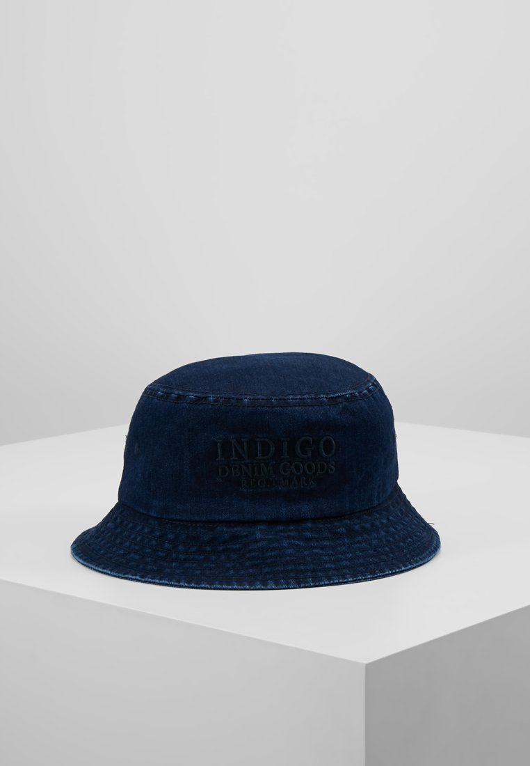 Jack & Jones - JACDENIM BUCKET HAT - Hat - blue denim