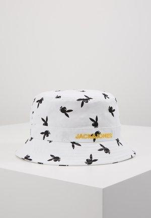 JACPLAYBOY BUCKET HAT - Hoed - white