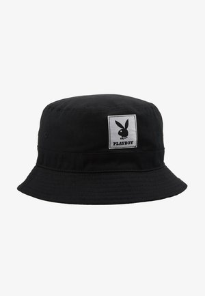 JACPLAYBOY BUCKET HAT - Klobouk - black