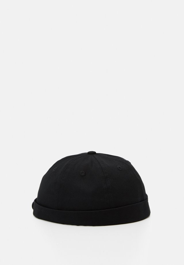 JACSTEVEN ROLL HAT - Hattu - black