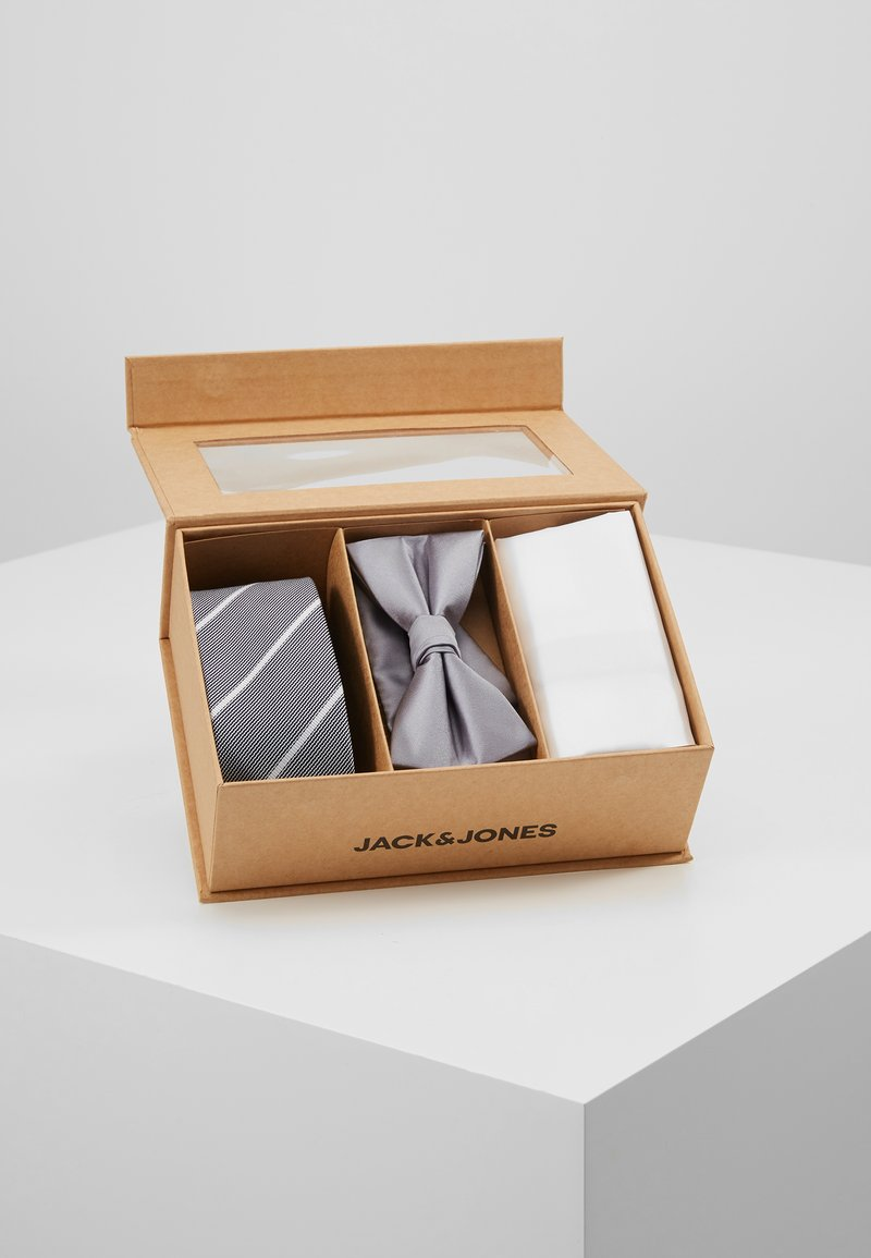 Jack & Jones - JACNECKTIE GIFT BOX - Einstecktuch - glacier gray