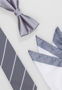 Jack & Jones - JACNECKTIE GIFT BOX - Einstecktuch - glacier gray - 6