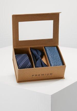 JACNECKTIE GIFT BOX - Mouchoir de poche - navy blazer