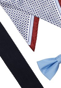 Jack & Jones - JACFREDERIK GIFT BOX SET - Pañuelo de bolsillo - navy blazer - 5