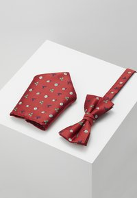 Jack & Jones - JACCHRISTMAS BOWTIE GIFT BOX SET - Ficknäsduk - fiery red - 0