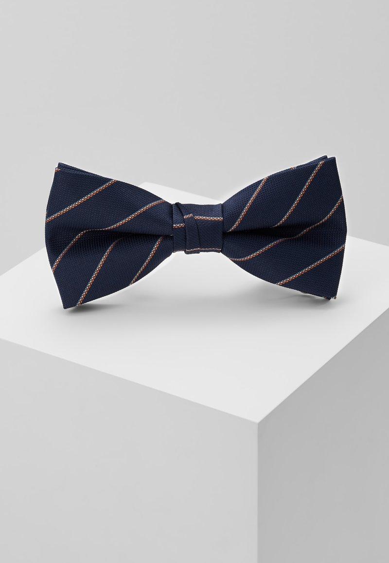 Jack & Jones - WILLIAM BOWTIE - Pajarita - navy blazer/stripes