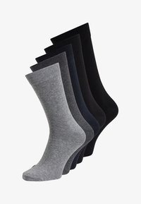 Jack & Jones - 5 PACK - Socks - dark grey melange - 0