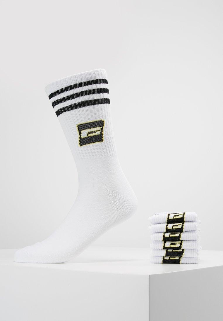 Jack & Jones - JACRETRO TENNIS 7 PACK  - Socken - white