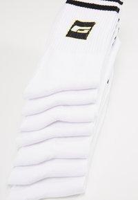 Jack & Jones - JACRETRO TENNIS 7 PACK  - Sokken - white - 2