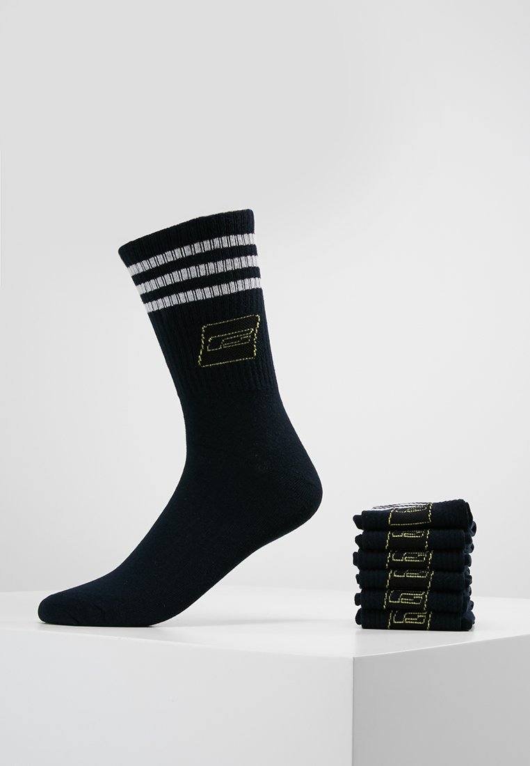 Jack & Jones - JACRETRO TENNIS 7 PACK  - Socken - black