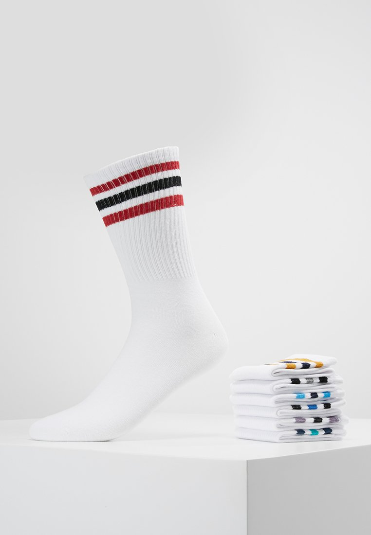 Jack & Jones - JACTENNIS SOCK 7 PACK - Chaussettes - white