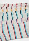 Jack & Jones - JACDOTS STRIPE SHORT SOCK 7 PACK - Ponožky - navy blazer/poppy red/blue atoll/spring bud/lipstick red/neon peach/aluminium