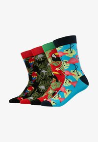Jack & Jones - JACANIMALS SOCKS 4 PACK  - Sokken - fieryred/black/fieryred/divapink - 1