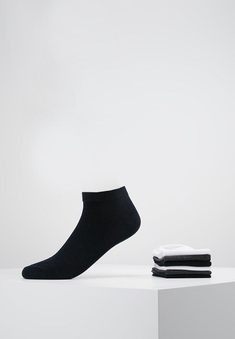Jack & Jones - JACDONGO MIX 7 PACK - Skarpety - dark grey melange/white/navyblazer