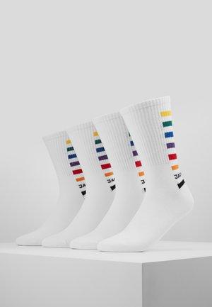 PRIDE 4 PACK  - Ponožky - white