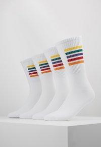 Jack & Jones - PRIDE SOCKS 4 PACK - Ponožky - white - 0