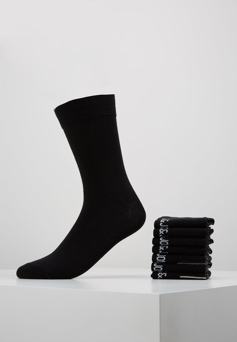 Jack & Jones - 7 PACK - Sokker - black