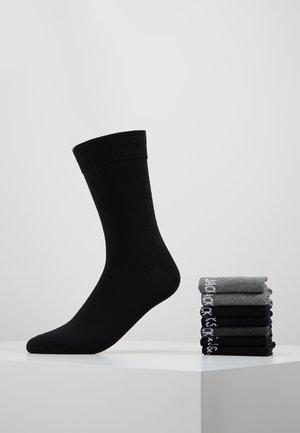 7 PACK - Calze - black/grey/light grey/navy