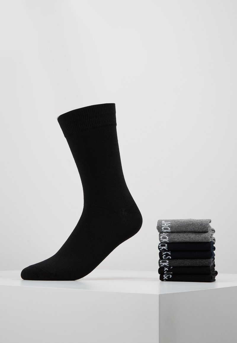 Jack & Jones - 7 PACK - Strumpor - black/grey/light grey/navy