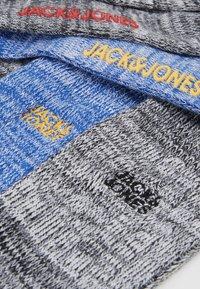 Jack & Jones - JACSUPER WINTER SOCK 3 PACK - Sokken - black/dark grey melange/rosin - 2