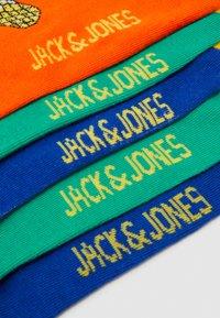 Jack & Jones - JACFOOD SHORT SOCK 5 PACK - Sportovní ponožky - surf the web/blarney - 2