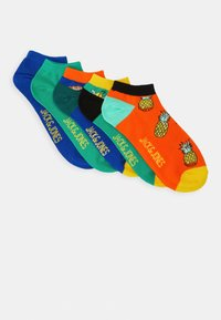 Jack & Jones - JACFOOD SHORT SOCK 5 PACK - Sportovní ponožky - surf the web/blarney - 0