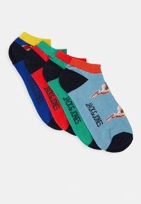 Jack & Jones - JACANIMALS SHORT SOCK 4 PACK - Socken - bittersweet/blarney/sky blue - 0