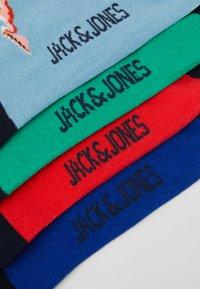 Jack & Jones - JACANIMALS SHORT SOCK 4 PACK - Socken - bittersweet/blarney/sky blue - 2