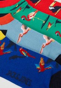 Jack & Jones - JACANIMALS SHORT SOCK 4 PACK - Socken - bittersweet/blarney/sky blue - 1