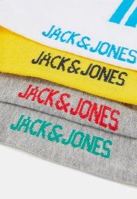 Jack & Jones - JACBASIC TENNIS SOCK 4 - Socken - hawaiian ocean/light grey melange/habarnero gold - 1