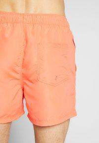 Jack & Jones - JJIARUBA JJSWIM  - Swimming shorts - hot coral - 1