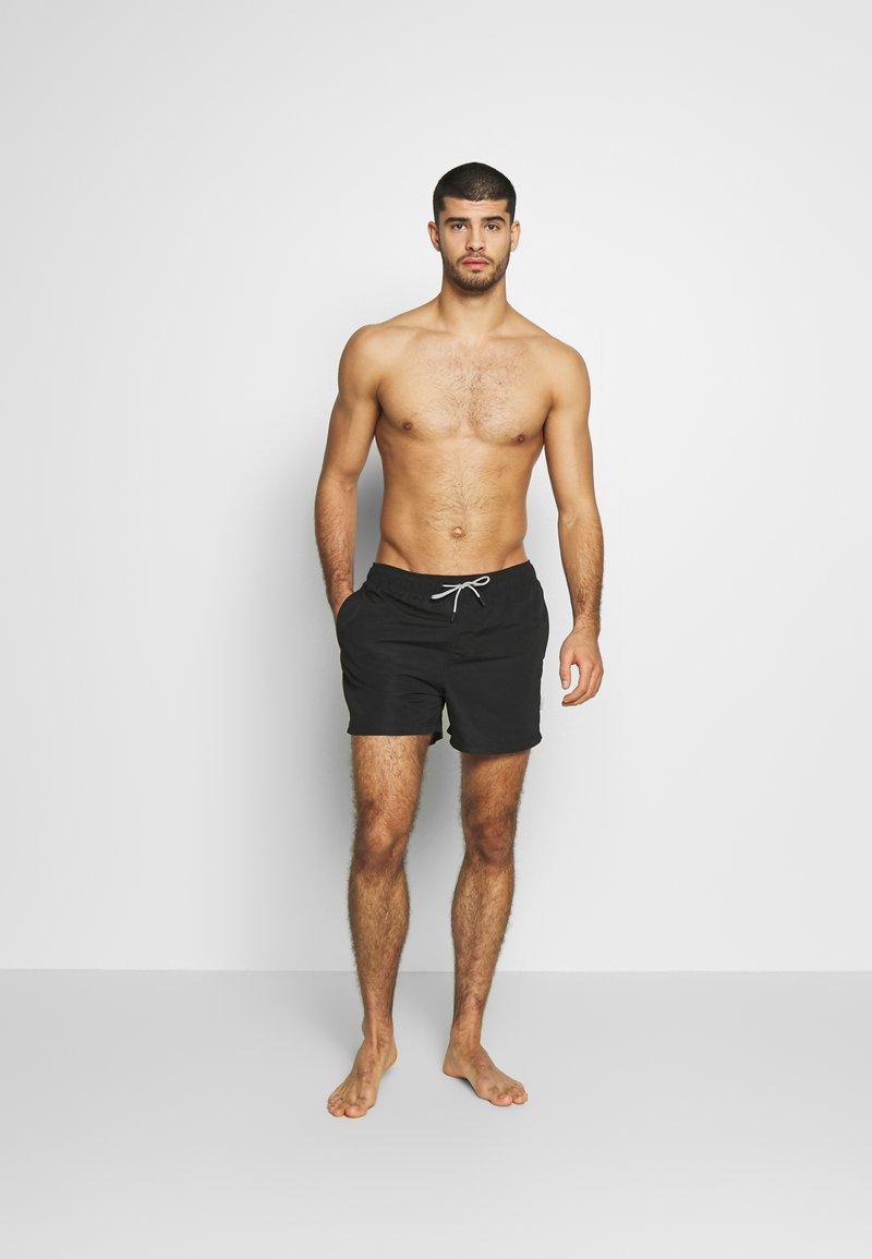 Jack & Jones - JJIARUBA JJSWIM  - Shorts da mare - black