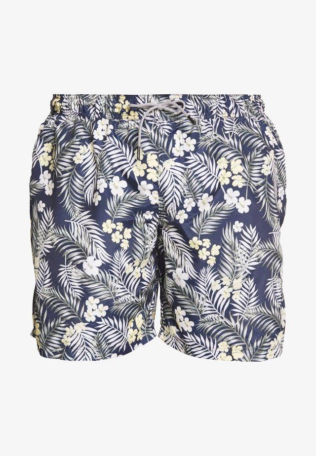 JJIARUBA JJSWIMSHORTS TROPIC - Short de bain - navy blazer