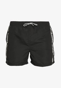 Jack & Jones - IARUBA TAPE - Shorts da mare - black - 3