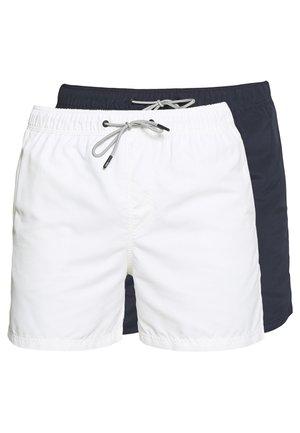 ARUBA SWIM  2 PACK  - Shorts da mare - white/navy blazer