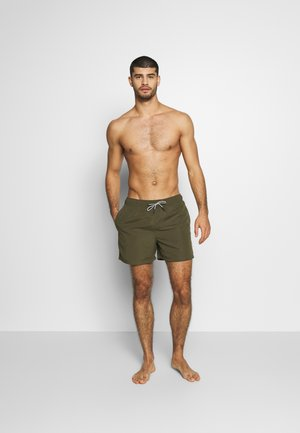 ARUBA SWIM  2 PACK  - Swimming shorts - black/olive night