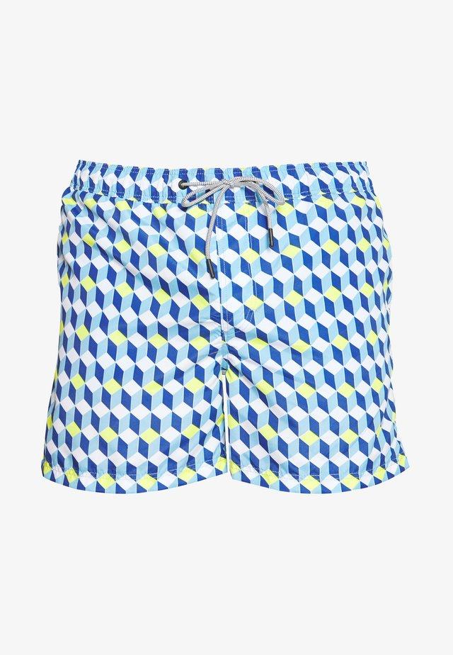 JJIARUBA JJSWIMSHORTS MINI - Szorty kąpielowe - alaskan blue