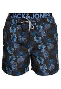 Jack & Jones - JJIARUBA JJSWIMSHORTS - Zwemshorts - black - 0
